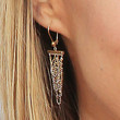 Jessica Barth Gold Chandelier Earrings