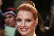 Jessica Chastain Updos