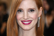Jessica Chastain Shoulder Length Hairstyles