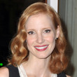 Jessica Chastain Hair - Medium Wavy Cut