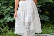Jessica Hart Knee Length Skirt