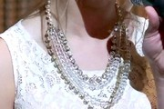 Jessica Lowndes Gemstone Statement Necklace