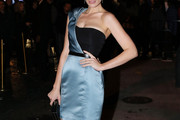 Jessica Pare One Shoulder Dress