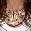 Jessica Sanchez Gold Collar Necklace