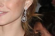 Jessica Stam Sterling Dangle Earrings
