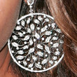 Jessica White Dangling Diamond Earrings