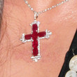 John Galliano Jewelry - Cross Pendant