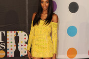 Jourdan Dunn Off-the-Shoulder Dress