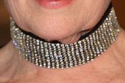 Judi Dench Diamond Choker Necklace