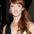 Judy Greer Hair - Long Wavy Cut with Bangs