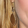 Julia Stiles Jewelry - Gold Dangle Earrings