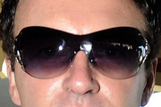 Julian McMahon Rimless Sunglasses