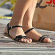 Julianne Hough Shoes - Flat Sandals