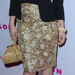 Juno Temple Knee Length Skirt
