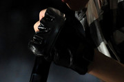Justin Bieber Leather Gloves