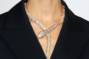 Karolina Kurkova Diamond Statement Necklace