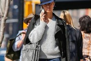 Karolina Kurkova V-neck Sweater