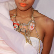 Kat Graham Gemstone Statement Necklace
