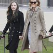 Kate Beckinsale Clothes - Trenchcoat