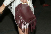 Kate Bosworth Tasselled Clutch