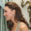 Kate Middleton Hair - Half Up Half Down