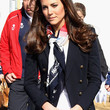 Kate Middleton Patterned Scarf