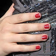 Kate Upton Red Nail Polish