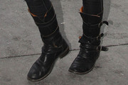 Kate Winslet Motorcycle Boots