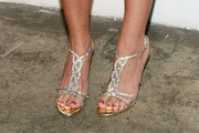 Katharine McPhee Evening Sandals