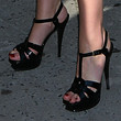 Katherine Heigl Platform Sandals