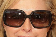 Kathy Hilton Oversized Sunglasses