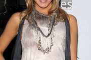 Katie Cassidy Layered Sterling Necklace