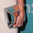Katie Cassidy Metallic Clutch