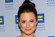 Katie Lowes Twisted Bun