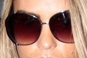 Katie Price Round Sunglasses