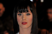 Katy Perry Medium Straight Cut with Bangs
