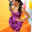 Keke Palmer Strapless Dress