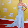 Kellie Pickler Clothes - Strapless Dress