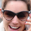 Kelly Brook Cateye Sunglasses