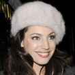 Kelly Brook Fur Hat