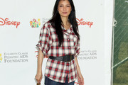Kelly Hu Flannel Shirt