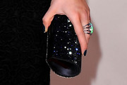 Kelly Osbourne Gemstone Inlaid Clutch