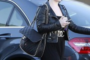 Kelly Osbourne Leather Tote