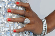 Kelly Rowland Red Nail Polish
