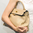 Kelly Rutherford Handbags - Leather Hobo Bag
