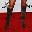 Keri Hilson Knee High Boots