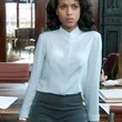 Kerry Washington Clothes - Button Down Shirt
