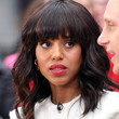 Kerry Washington Hair - Medium Wavy Cut with Bangs