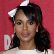 Kerry Washington Retro Hairstyle
