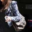 Khloe Kardashian Quilted Leather Bag